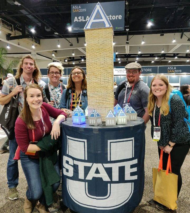 Students at the National ASLA Conference in 2019