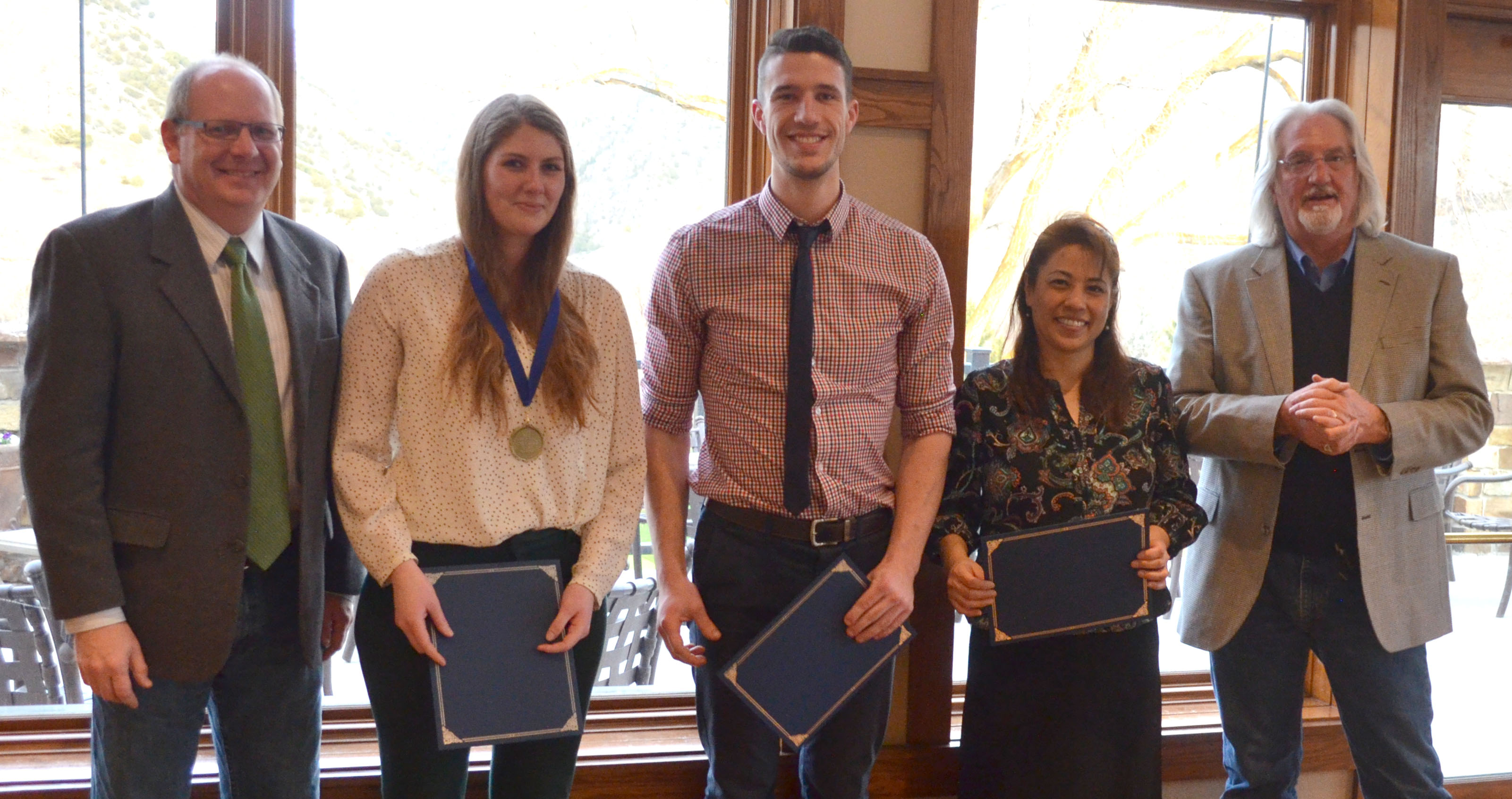 Students receive awards at banquet